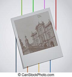 Vector photo art - Creative design of vector photo art
