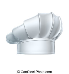Chef hat - isolated on white background