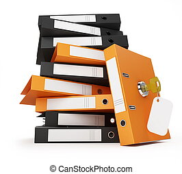 security documents and folders - security office documents...