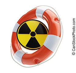 Rescue of nuclear energy on a white background