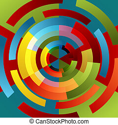 Spinning Wheel Background - An image of a spinning wheel...