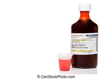 Prescription Medicine - Liquid prescription cough medication...