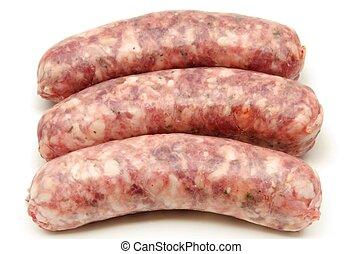 sausage - Fresh raw sausage
