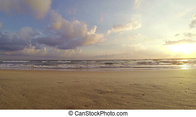 Sea surf and beautiful sky - Video 1920x1080p - Sea surf and...