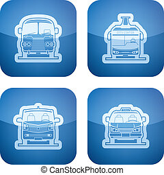 Transportation - Public transport - various land vehicles,...