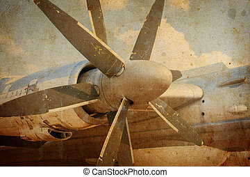 Engine propeller aircraft