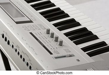 Synthesizer - Musical instrument - a synthesizer Korg