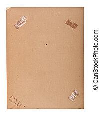 Old Photo Frame Sticky Tape