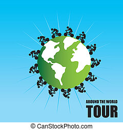 tour around the world