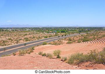 Papago Amphitheater and Scottsdale, AZ - Scottsdale and...