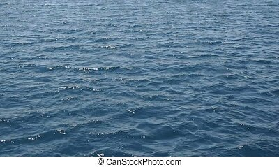 sea waves - clear blue sea waves with the sound of strong...