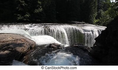Lower Lewis River Falls 1920x1080 - Lower Lewis River Falls...