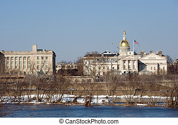NJ State House - New Jersey state house and capitol complex...