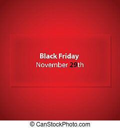 black friday with special design for your website