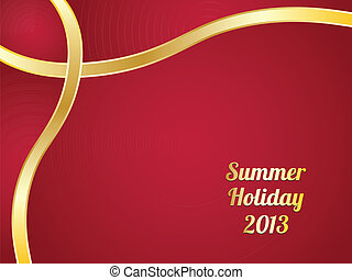 summer background with special design for your website