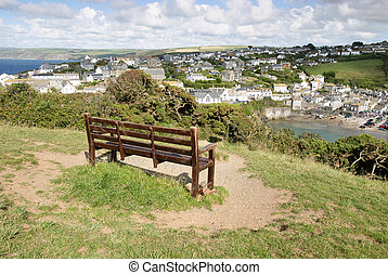 Port Isaac - view of Port Isaac in Cornwall