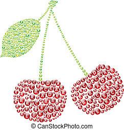 Red Cherries Vitamins
