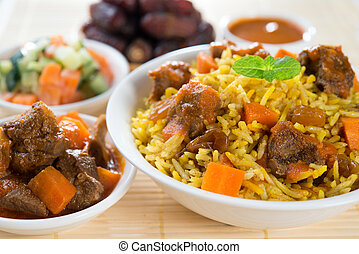 Delicious Arab rice - Arab rice, Ramadan food in middle east...