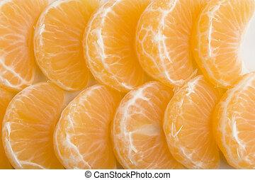 Orange Background - Christmas Orange Slice Background