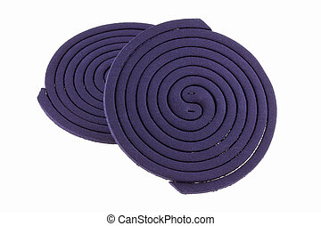 Mosquito Coils, insect repellent - Purple Mosquito Coils...