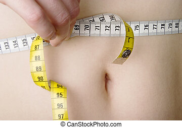Waist Measure - Measuring the waist