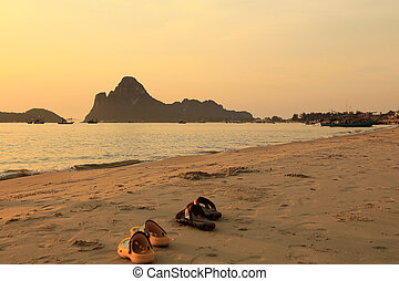 Prachuap Khiri Khan in Thailand Beach