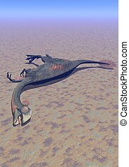 dinosaur gigantoraptor death