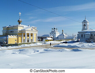 Church Ioanna Kind near by Reverently-Bogoyavlenskim male...