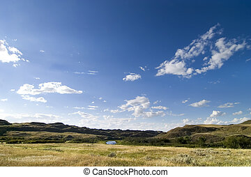 CreekHills - Prairie creek hills on the saskatchewan...