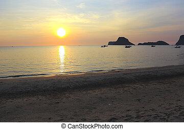 Prachuap Khiri Khan in Thailand Beach
