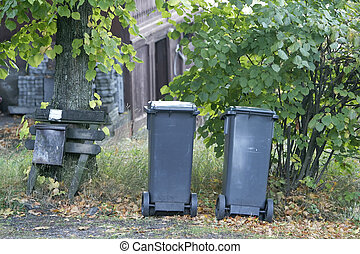 Garbage Can - Garbage cans in Oslo, Norway