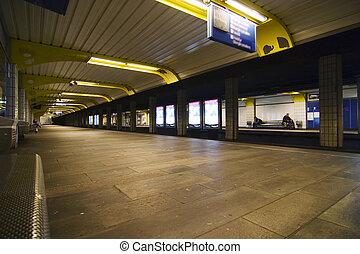 Subway Abstract