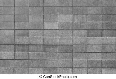 Grey Block Background - Grey block wall texture with...