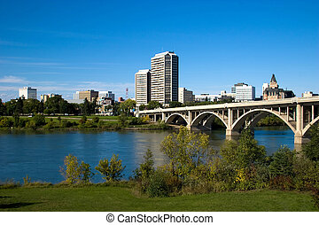 Downtown Saskatoon - Saskatoon is often called the City of...