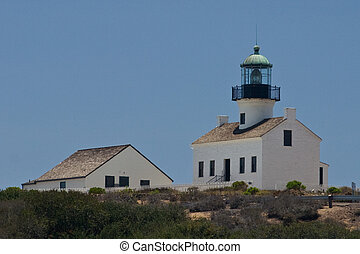 Old Point Loma Lighthouse - The original Point Loma...