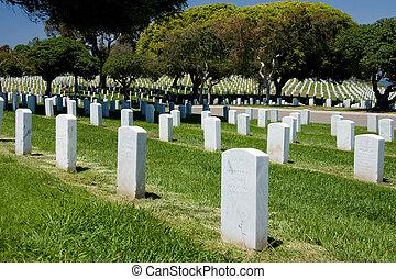 nacional, Fortaleza, cementerio,  rosecrans