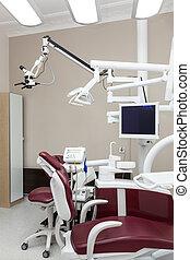 歯科医, オフィス