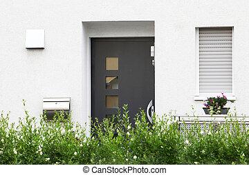 modern entree frontdoor