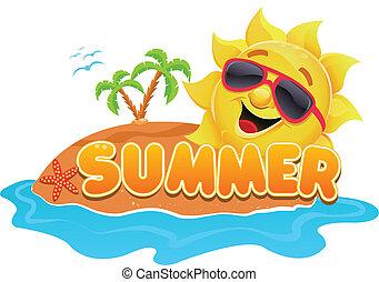Summer Theme - Cute summer theme for seasonal designs.