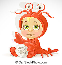 Baby zodiac - sign Cancer