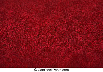 Leather texture - Red teather texture close up