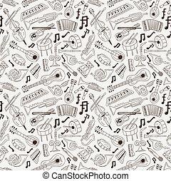 jazz - seamless background