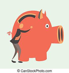 reliable investments - Reliable investments in bank. Storage...