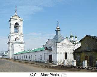 REVERENTLY-Bogoyavlenskiy male priory in village Mstyora