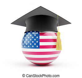 education usa on a white background