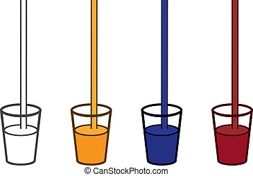 Drinks Poured Colors
