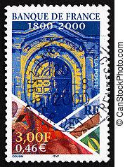 Postage stamp France 2000 Bank of France - FRANCE - CIRCA...