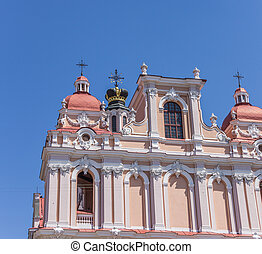Detail of St Casimir church - Detail of St Casimir church in...