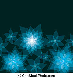 Festive abstract floral background with flowers lilies