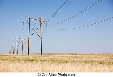 Prairie Power Line - A high capacity prairie power line...
